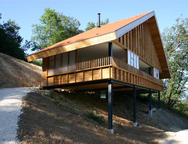 maison architecte montagne